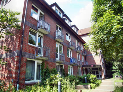 Studentenwohnheim in Hamburg